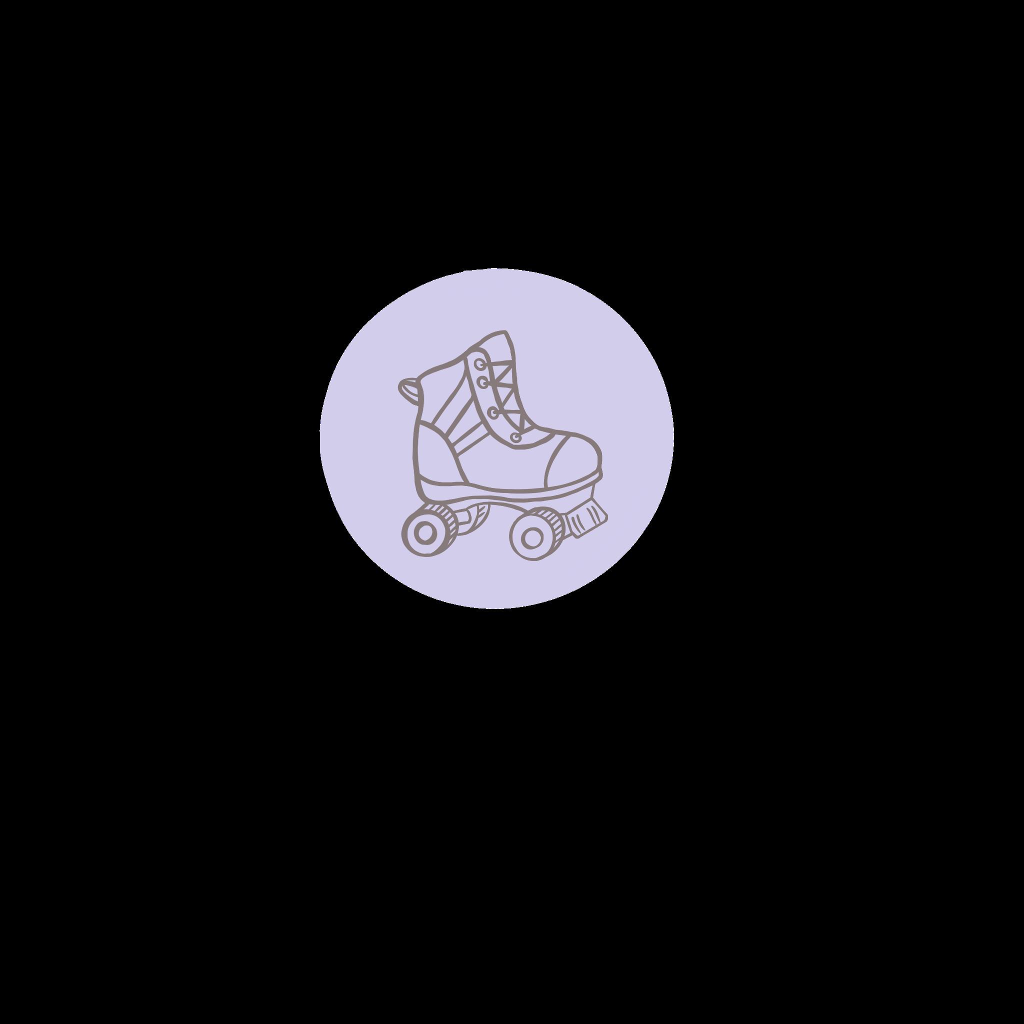 an illustration of a roller skate