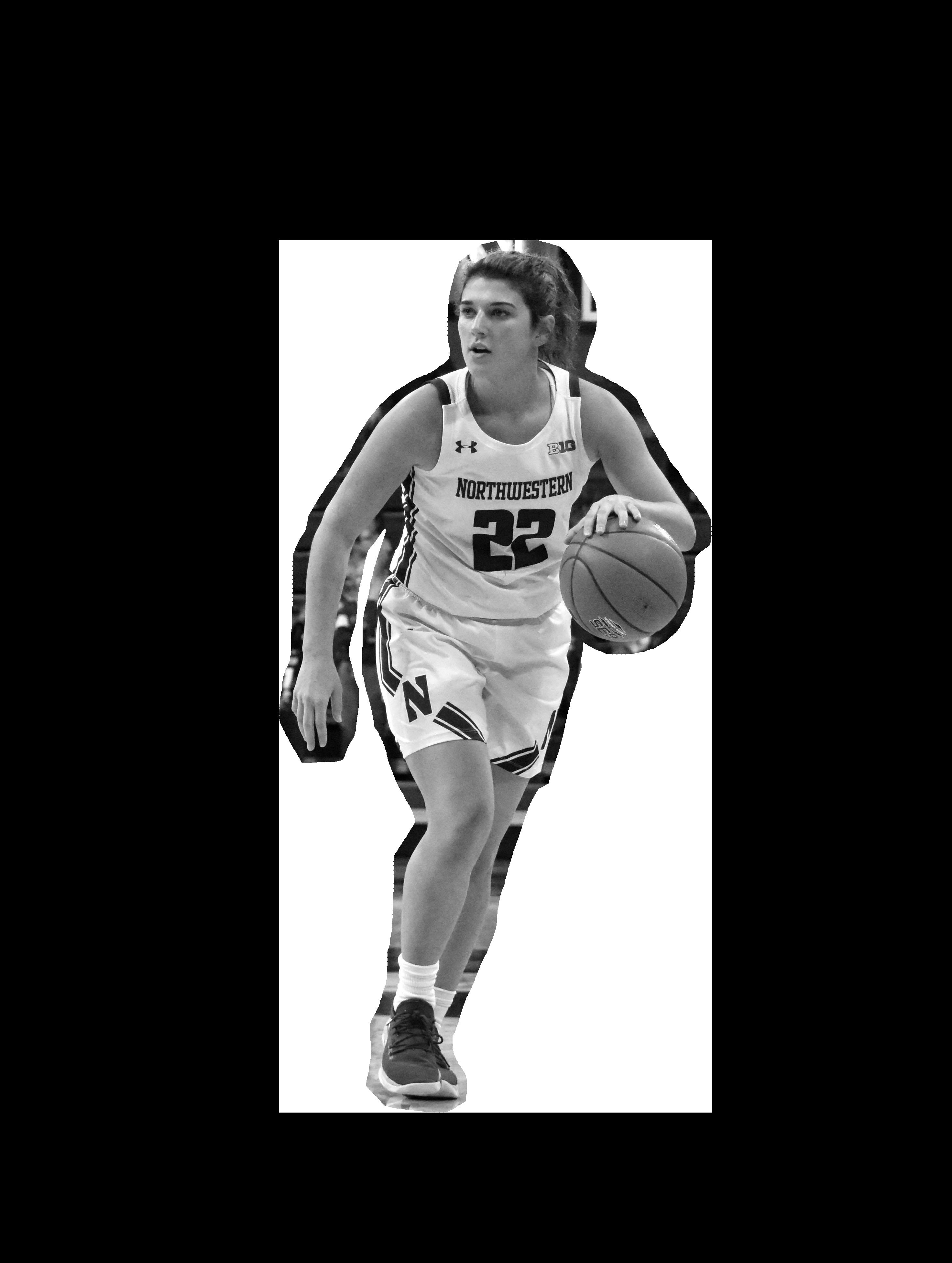 a women's basketball player